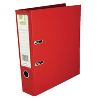 KF20021 lever arch q red a4