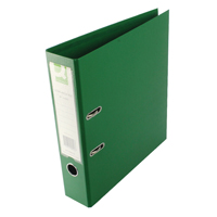 KF20022 lever arch green a4