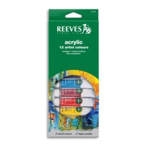 reeves acrylic 12pk